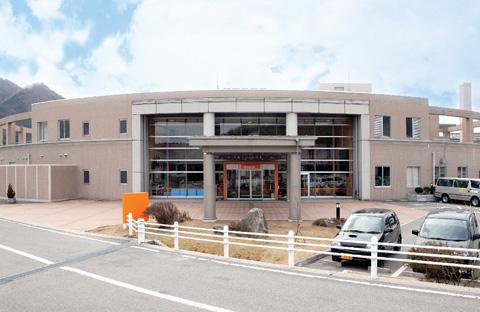 庄原市立西城保健福祉総合センター「しあわせ館」外観